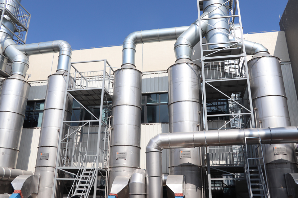 Coating production line exhaust gas treatment equipment