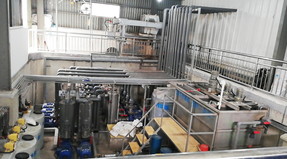 Coating production line wastewater treatment equipment