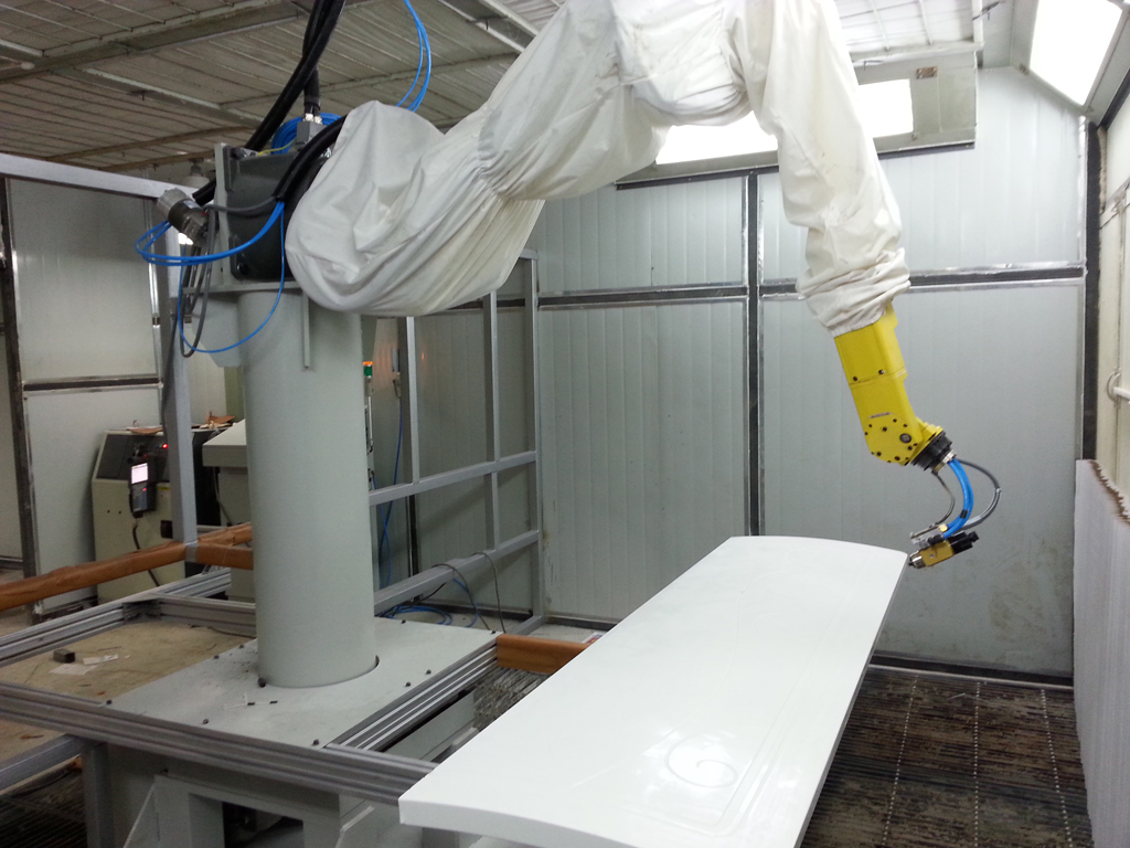furniture coating line